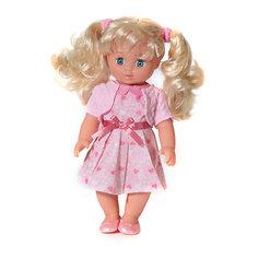 """Интерактивная кукла Карапуз """"Полина. Стихи Барто"""", 25 см (в розовом)"""
