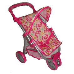Прогулочная коляска для куклы Карапуз