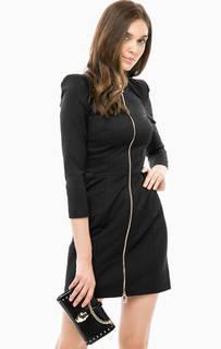 Короткое хлопковое платье на двухзамковой молнии Marciano Guess