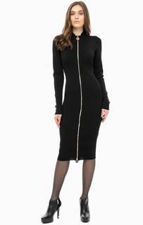 Обтягивающее платье с высоким воротом Marciano Guess
