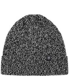 Вязаная хлопковая шапка с отворотом Marc Opolo