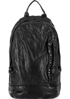 Вместительный кожаный рюкзак с широкими лямками Campomaggi