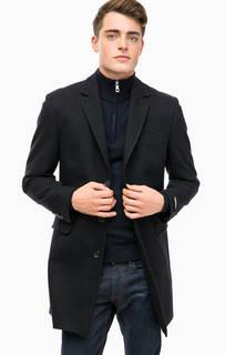 Классическое пальто с высоким содержанием шерсти Lagerfeld