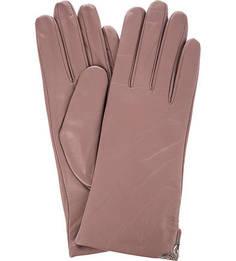 Кожаные перчатки с металлическим декором Eleganzza