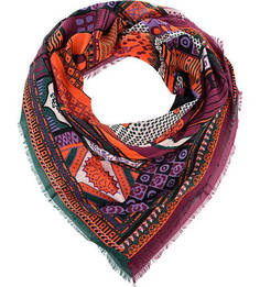 Яркий разноцветный платок Eleganzza