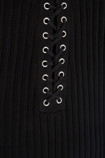 Трикотажное платье David Koma