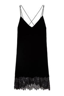 Бархатное платье Mo&Co