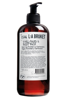 Жидкое мыло для тела и рук 094 Salvia/Rosmarin/Lavendel-Sage/Rosemary, 450 ml L:A Bruket
