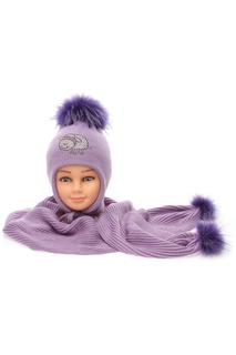 Комплект: шапка и шарф Solorana