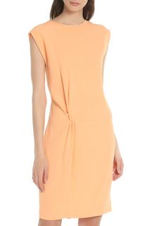 Приталенное платье  со шлицей сзади Blacky Dress