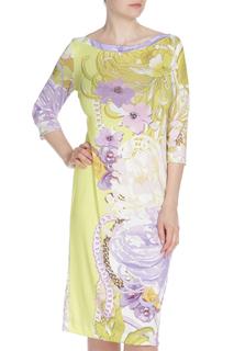 Полуприлегающее платье с рукавами 3/4 DONATELLA VIA ROMA