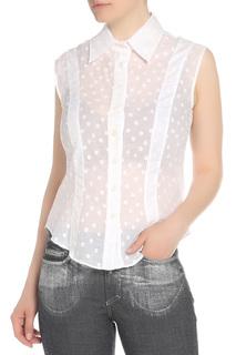 Блузка в горошек Versace