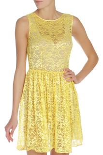 Короткое платье из гипюра American Apparel