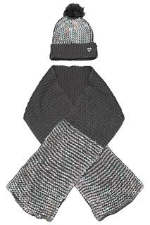 Шапка с шарфом Little Marc Jacobs
