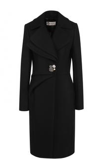 Шерстяное приталенное пальто Lanvin