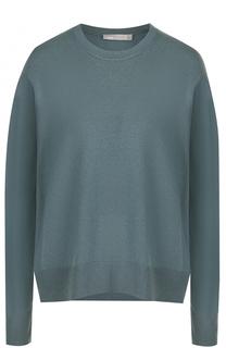 Кашемировый пуловер свободного кроя Vince