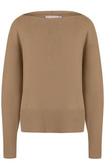 Кашемировый пуловер с вырезом-лодочка Vince