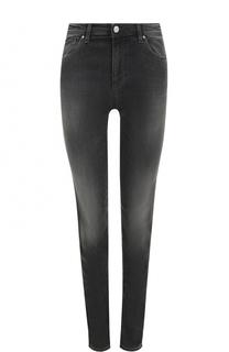 Джинсы-скинни с потертостями Armani Jeans