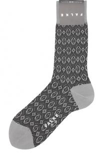 Хлопковые носки с принтом Falke
