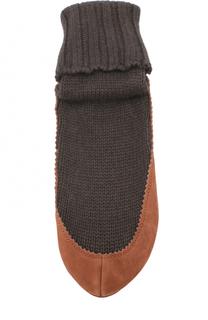 Носки с кожаной вставкой Falke