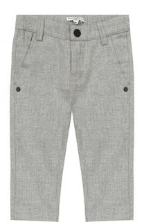 Хлопковые брюки прямого кроя Givenchy