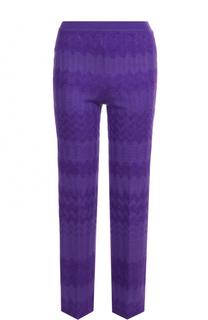 Укороченные расклешенные брюки Missoni