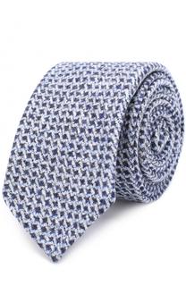 Шерстяной галстук BOSS