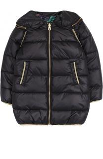 Стеганое пальто на молнии Marc Jacobs