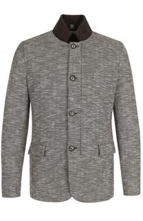 Двусторонняя куртка на молнии с воротником-стойкой Capobianco