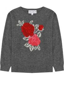 Пуловер из смеси шерсти и кашемира Simonetta