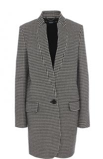 Шерстяное пальто прямого кроя Stella McCartney