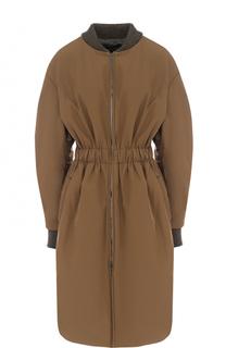 Приталенное пальто с объемными рукавами Isabel Marant