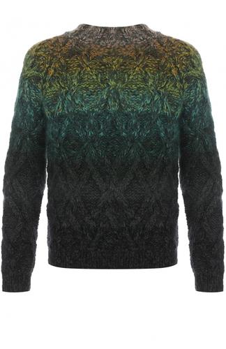 Шерстяной свитер фактурной вязки Missoni