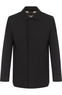 Утепленная куртка на молнии с отложным воротником Loro Piana