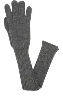 Удлиненные кашемировые перчатки Tegin