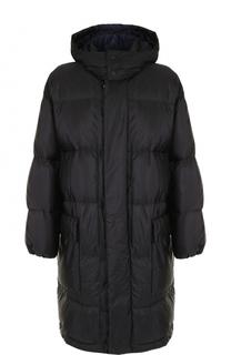 Утепленная куртка на молнии с капюшоном Stella McCartney