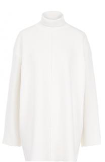 Шерстяной свитер свободного кроя с высоким воротником Stella McCartney