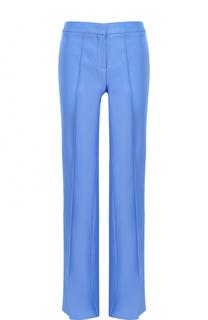 Расклешенные брюки с карманами и стрелками Emilio Pucci