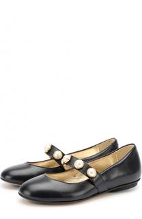 Кожаные туфли с жемчужинами Missouri