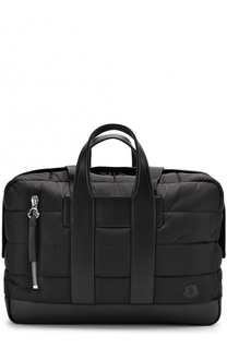 Текстильная дорожная сумка с плечевым ремнем Moncler