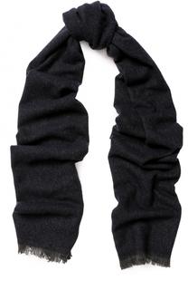 Кашемировый шарф с необработанным краем Ermenegildo Zegna