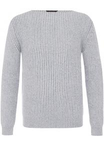 Кашемировый свитер фактурной вязки Zegna Couture