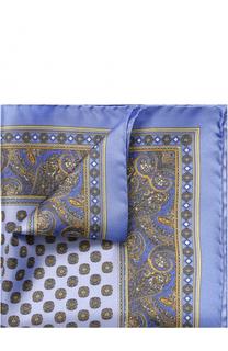 Шелковый платок с узором Eton