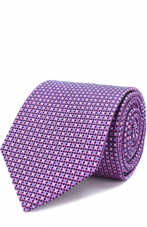 Шелковый галстук с узором Eton
