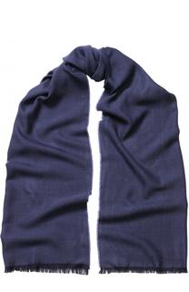 Шерстяной шарф с необработанным краем Eton