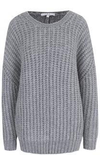 Пуловер фактурной вязки с круглым вырезом Iro
