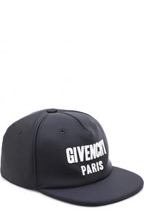 Текстильная бейсболка с логотипом бренда Givenchy