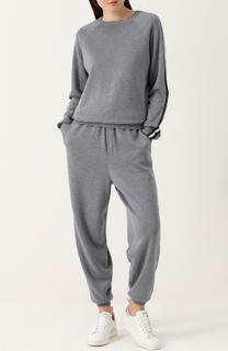 Спортивный костюм из смеси шелка и кашемира Olivia Von Halle