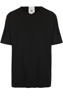 Удлиненная хлопковая футболка свободного кроя Lost&Found Lost&Found