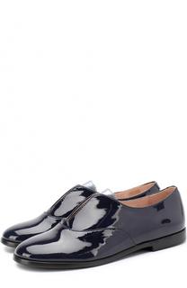 Лаковые ботинки без шнуровки Beberlis